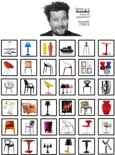 PHILIPPE STARCK This French design is one of the most famous, and when looking at his talent it's easy to understand why! Philippe Starck, George Nelson, Plywood Furniture, Furniture Design, Modern Furniture, Futuristic Furniture, Design Lounge, Chair Design, Design Apartment