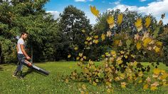 Worx Turbine Fusion Leaf Blower, Mulcher, and Vacuum with Dual-Stage Metal Impeller and Turbine Fan Technology – WG510 Leaf Blower, Garden Power Tools, Popular Mechanics, Lawn And Garden, Outdoor Power Equipment, Good Things, Fan, Technology, Gardening