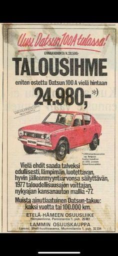 Good Old Times, Car Advertising, Old Ads, Cars And Motorcycles, Cool Cars, Retro Vintage, Classic Cars, Nostalgia, Childhood