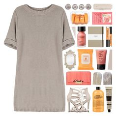 """""""♡ saying the same thing twice won't make it right ♡"""" by becauseallycan ❤ liked on Polyvore featuring Zoffany, Perricone MD, J. Mendel, Burt's Bees, H&M, Shinola, Chanel, Aesop and NARS Cosmetics"""