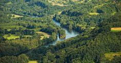 Domaine D'Essendiéras - Greencamp Camping Sarlat, La Dordogne, Glamping, River, Palette, Outdoor, Caves, Lush