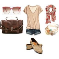 This outfit is perfect for summer or vacation