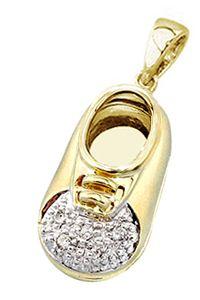 Shoe with Diamond Toe