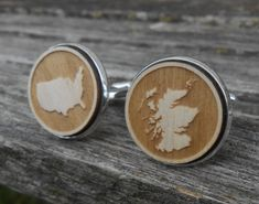 YOUR COUNTRY Wood Cufflinks. Laser Engraved. Wedding, Men's, Groomsmen Gift, Dad. Custom Orders Welcome. Map, Scotland, Italy, U.S.A., AU by TreeTownPaper on Etsy Unique Gifts, Great Gifts, Bride And Groom Gifts, Wedding Order, How To Make Paper, Groomsman Gifts, Laser Engraving, Groomsmen, Wedding Accessories