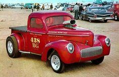 Willys Pick-up Gasser