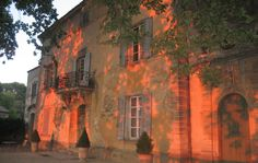 "Chateau La Canorgue. Bonnieux-Luberon France. The Chateau in the move ""A Good Year""."