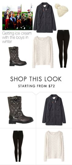 """Getting ice cream with the boys in winter"" by outfits-with-one-direction ❤ liked on Polyvore featuring KG Kurt Geiger, MHL by Margaret Howell, Topshop and Band of Outsiders"