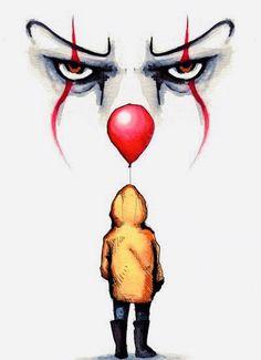 Kunst Zeichnungen - Pennywise drawing by Lera Kiryakova Fan Art t - Arte Horror, Horror Art, Art Drawings Beautiful, Cool Drawings, Horror Drawing, Desenho Tattoo, Tatoo Art, Drawing Eyes, Drawing Art