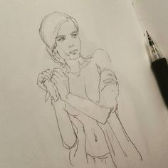 Если линейный рисунок получается вроде сводилки то это хорошо. Но не совсем  потому что он похож на сводилку.  #drawing #illustration #portrait #sketch #pencil #sketchbook #art #artwork #painting #eskiz #портрет #рисунок #карандаш #набросок #эскиз