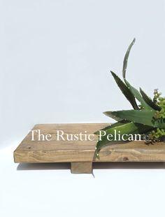 Ripiano bagno vassoio  vassoio in legno vasca da di RusticPelican