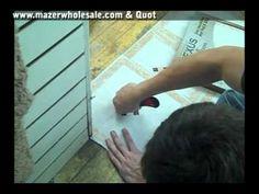 VIDEO: Installing Self Adhesive Floor Tiles