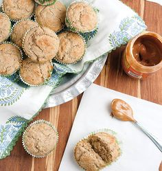 Peanut Butter Banana Muffins - Clean Eating