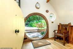 Lord of the Rings fans can live like a hobbit in a quirky hand-crafted holiday let Hobbit Land, Hobbit Hole, The Hobbit, Home Themes, Cottage Living, Cool House Designs, Two Bedroom, Home Goods, Living Spaces
