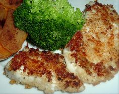 Panko Fried Halibut Cheeks from Food.com:   Halibut cheeks are truly tender, flavorful  morsels.  I don't like to use too many herbs or spices with them just let the natural flavor come through.  You could add some garlic to the pan or mix in some fresh dill - it's up to you.  This is how I enjoy them served with some Tartar sauce &  an additional wedge of lemon.  You may substitute regular bread crumbs but Panko are better