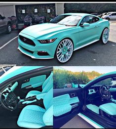 Pink Mustang, Ford Mustang Car, My Dream Car, Dream Cars, Mustang Accessories, Cool Car Stickers, Mustang Interior, Lux Cars, Car Mods