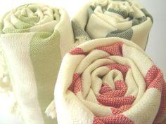 Handwoven Bath Towel Ecofriendly Turkish Peshtemal by TheAnatolian, $28.00