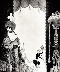 1898   -  Mademoiselle de Maupin 'The Lady with Monkey'