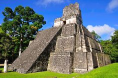 Photo about Ancient Maya temple in Tikal, the archaeological site and urban center of the pre-Columbian Maya civilization, Guatemala. Image of city, empire, capital - 16416498 Banff National Park, National Parks, Maya Civilization, Tikal, Ancient Mysteries, Mayan Ruins, Archaeological Site, Central America, South America