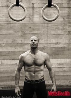 Ripped! Jason Statham simply stuns in a new photo shoot for Men's Health Australia, showing off her ripped physique while detailing his training regime