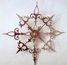 Courage Clock Hand Boutonniere Steampunk Accessory. $8.00, via Etsy.