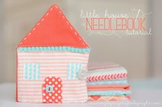Little House Needlebook Tutorial from Mommy by Day, Crafter by Night