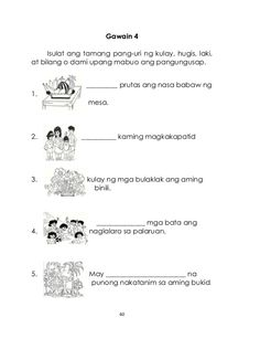 gamit ng pangngalan worksheets for grade 6 free Reading Comprehension For Kids, Hedgehog Craft, 2nd Grade Worksheets, Grade 2, Filipino, Mtb, Nasa, Design Inspiration, Learning