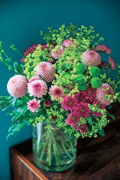 #Truffaut - Bouquet champêtre travaillé de manière très spontanée