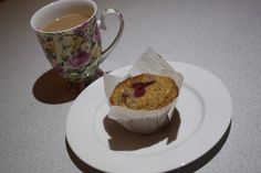 Wholemeal Banana and Raspberry Muffins