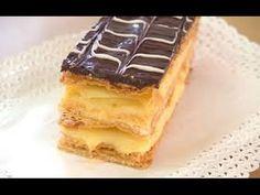 PASTEL MILHOJAS CREMA Y CHOCOLATE - Silvana Cocina y Manualidades - YouTube