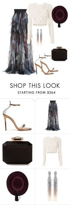 """..."" by gabriela-costa-carneiro ❤ liked on Polyvore featuring Gianvito Rossi, Elie Saab, Alexander McQueen, A.L.C. and Oscar de la Renta"
