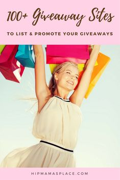 Check out these 100+ Sites to List and Promote your Giveaways!