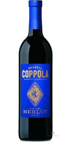 Francis Ford Coppola, Diamond Collection, Blue Label Merlot 2011