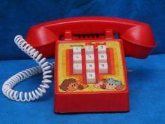 Antigo Telefone Digital Da Mimo Movido-A Corda
