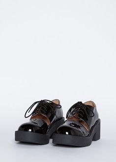 Wasteland Shoes - ShopWasteland.com - Jeffrey Campbell Open-Up Oxford