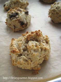 My Little Space: Roll Oat Mulberry Drop Biscuit