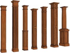 Square Columns | Stain Grade Columns | Stainable Columns ...