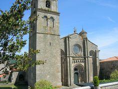Orense Mosteiro de Santa María de Xunqueira de Ambía,