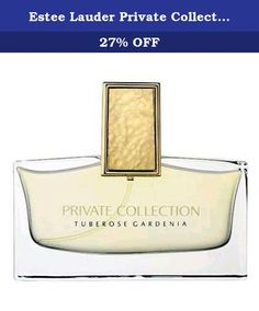Estee Lauder Private Collection Tuberose Gardenia Eau De Parfum Spray 75ml/2.5oz. -A floral fragrance for modern ladies -Classy, elegant, feminine & inviting -Top notes of neroli, lilac & rosewood -Heart notes of gardenia, tuberose, orange flower, jasmine & white lily -Base notes of carnation & vanilla bourbon -Ideal for daytime & nighttime wear Product Line: Private Collection Tuberose Gardenia Product Size: 75ml/2.5oz.