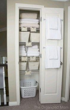 sheets closet