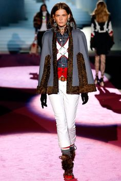 Dsquared² Fall 2015 Ready-to-Wear Collection Photos - Vogue Love Fashion, Runway Fashion, Fashion Beauty, Fashion Show, Womens Fashion, Fashion Design, Milan Fashion, Fall Winter 2015, Autumn Winter Fashion