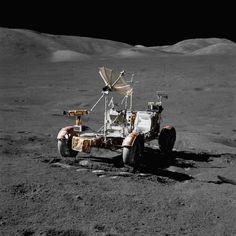 Apollo 17 - lunar roving vehicle