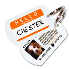 Custom Pet ID Tags - Great Gift for Pet Lovers! #MyUntangledHolidays #dogs