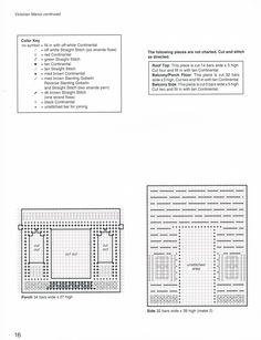 PC TISSUE BOX HOUSES by JOYCE LEVITT *PAGE 16*