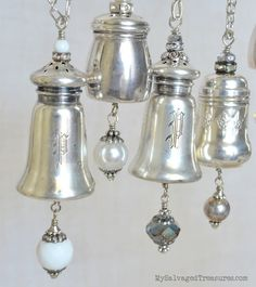 Pass the Salt and Pepper Shaker Necklaces