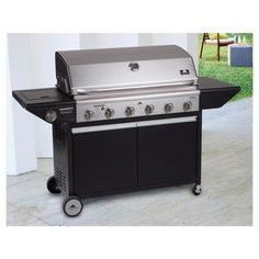 Garden Gourmet 6 Burner BBQ | Patio by Jamie Durie exclusive to BIG W