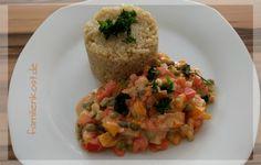 Rezept für Quinoa-Gemüsegulasch