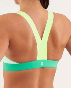 I love this. Gotta get a sexy back to show off this sexy sports bra!