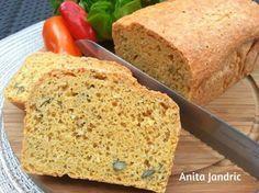 Brot aus Linsenmehl - Low Carb