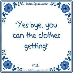 Ja dag, je kan de kleren krijgen!