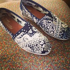 Hand-Decorated TOMS